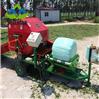 青储麦秆打捆包膜机 稻草饲料打包机价格