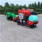 ST-5552A玉米秸秆打捆机报价圆捆打捆包膜一体机