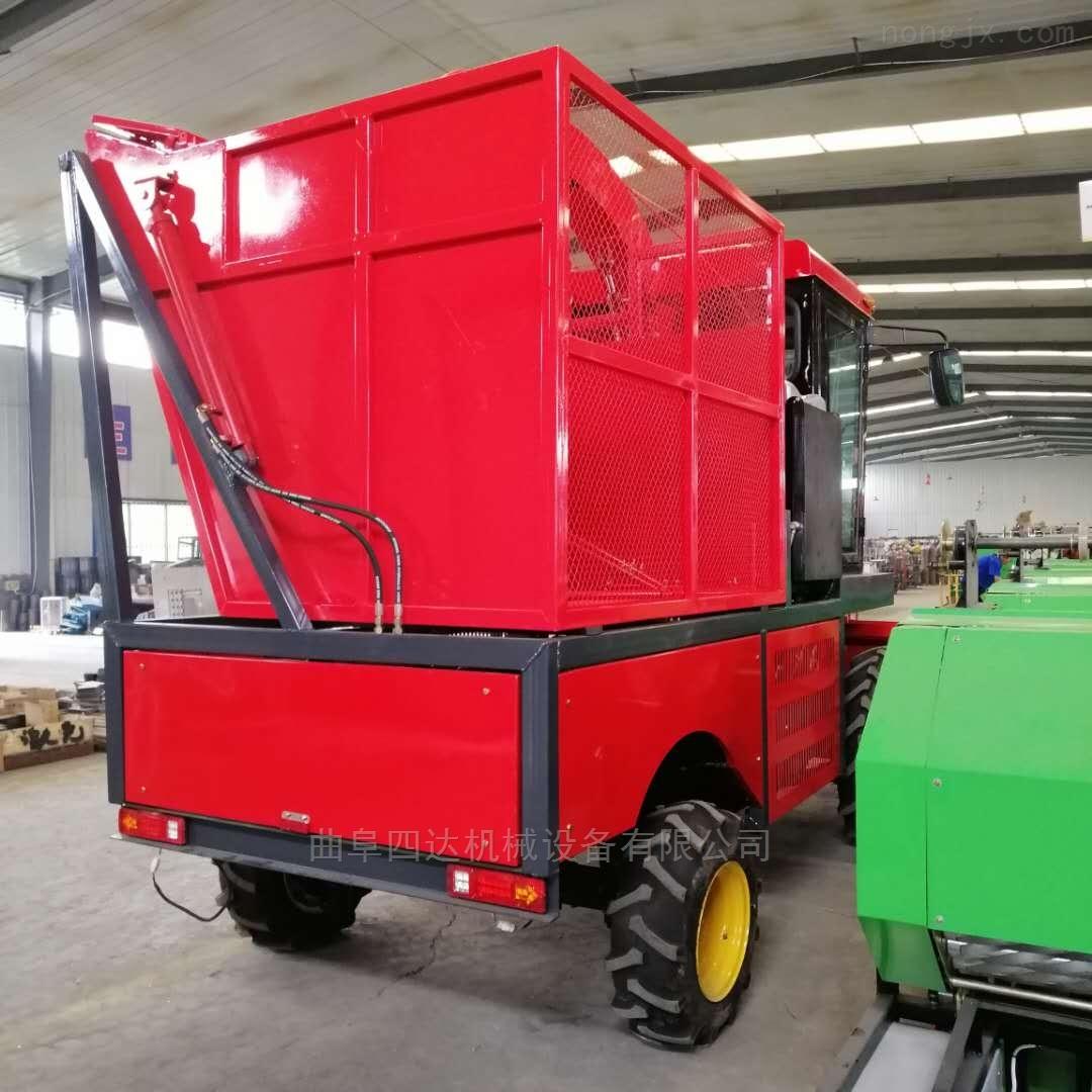 自走式玉米青贮收获机