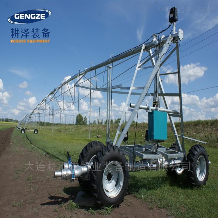 大型平移式喷灌机全自动浇地水肥一体化