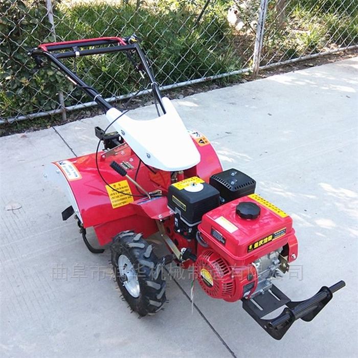 四驱变速多功能微耕机 柴油电启动旋耕机