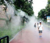 户外喷雾降温工程装置餐厅降温装备供给价格
