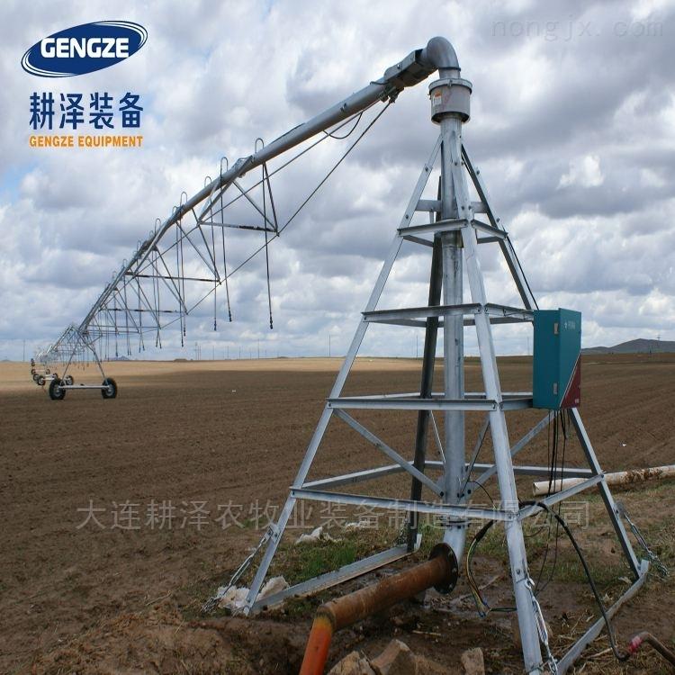 指針式大型移動式噴灌機全自動大田灌溉設備