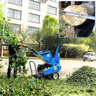 园林木材树叶粉碎机碎枝机枝条切片机