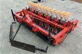 四轮带蔬菜播种机手推汽油电动式精播机