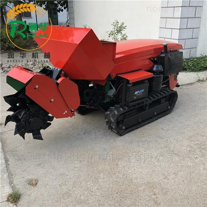 常柴动力果园开沟机 大功率履带施肥回填机