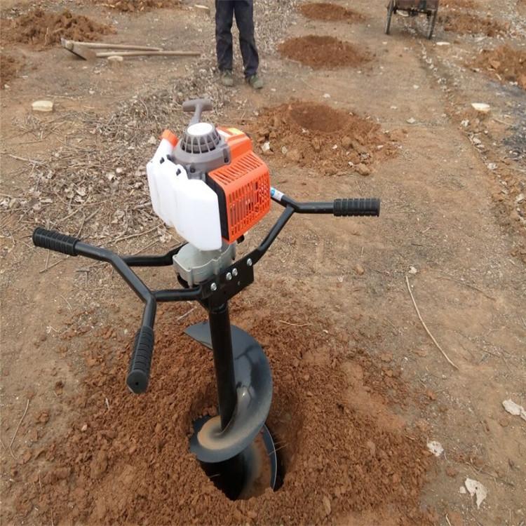 栽树挖坑机 汽油钻坑机 果树施肥打坑机