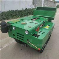 柴油除草旋耕機 履帶式施肥回填開溝機