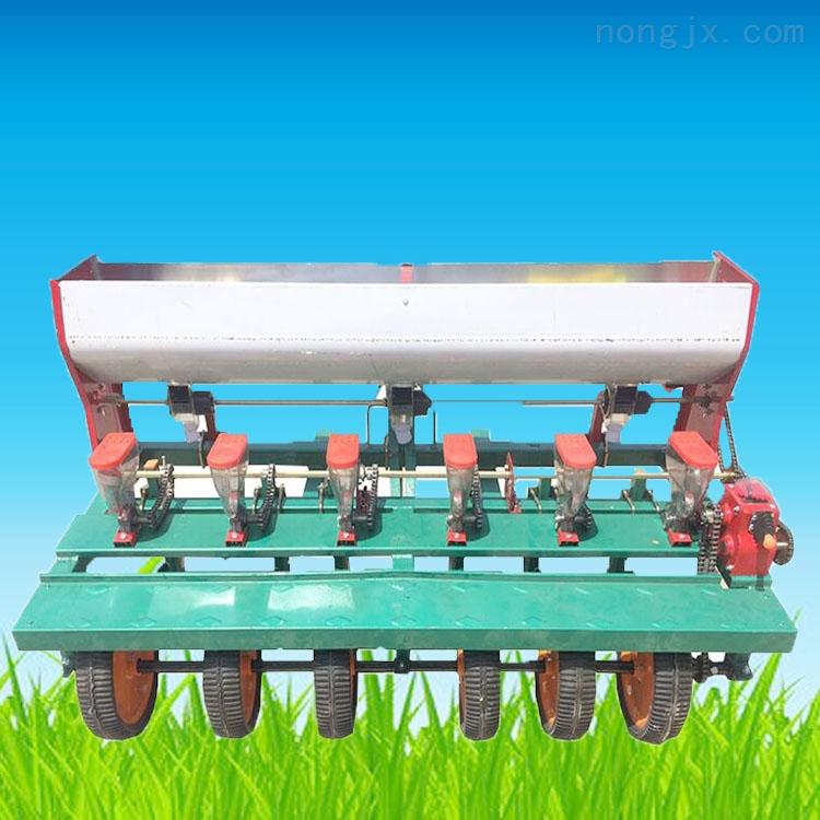 四轮蔬菜播种机 香菜草坪点播机