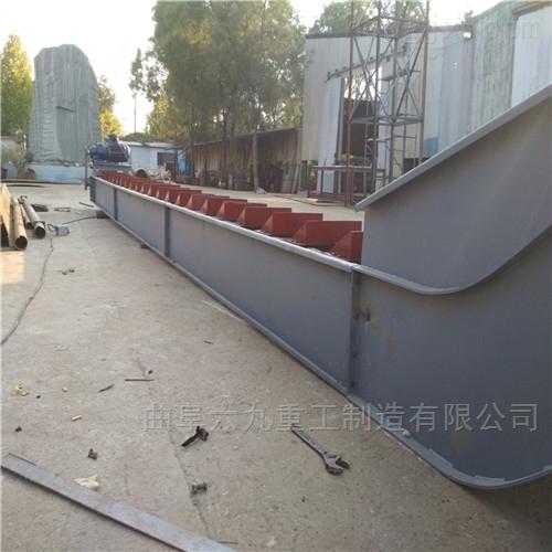 砖厂用铁板式输送机  雕像用链板传送机Lj1