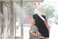 深圳公交车站台喷雾降温系统