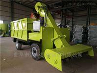 小型養殖場自卸式清糞車 柴油三輪鏟糞車
