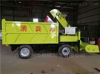 养殖场小型液压清粪车 干湿牛粪运输铲粪车