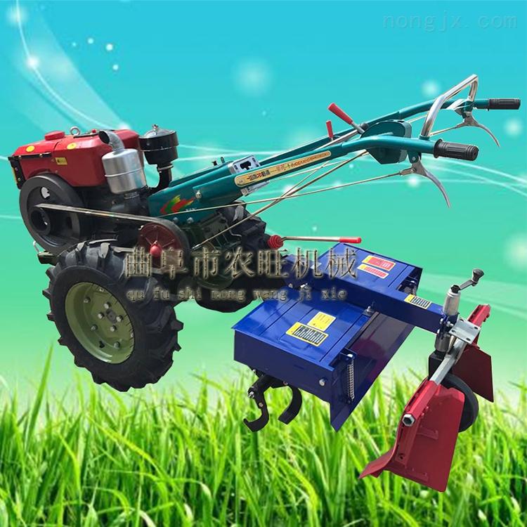 手扶拖拉机犁地耕田机 农用小型手扶旋耕机