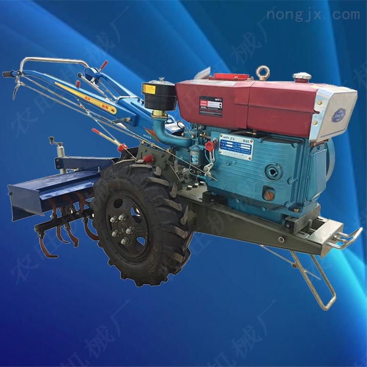 农用手扶拖拉机开沟机旋耕机多功能手扶拖拉机
