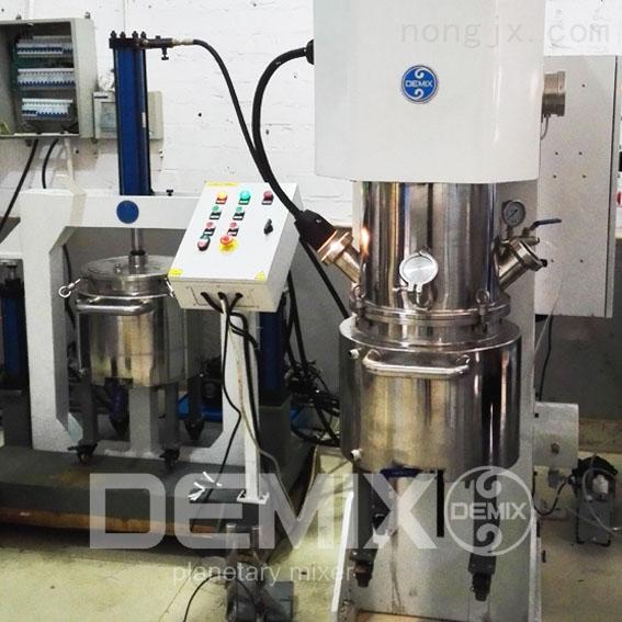 DEMIX非标定制0.5L-2000L双行星搅拌机