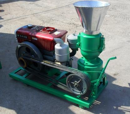 柴油机款饲料颗粒机