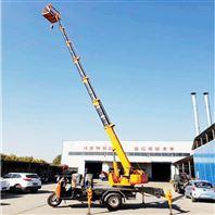 工程建筑伸缩臂自制三轮吊车三马车起重机