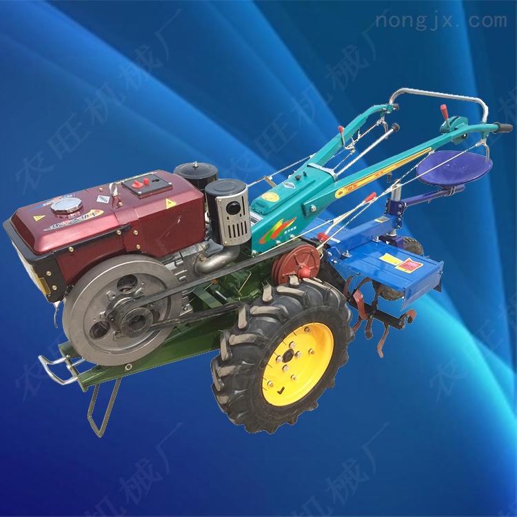 12馬力手扶車旋耕機 多功能手扶旋耕犁地機
