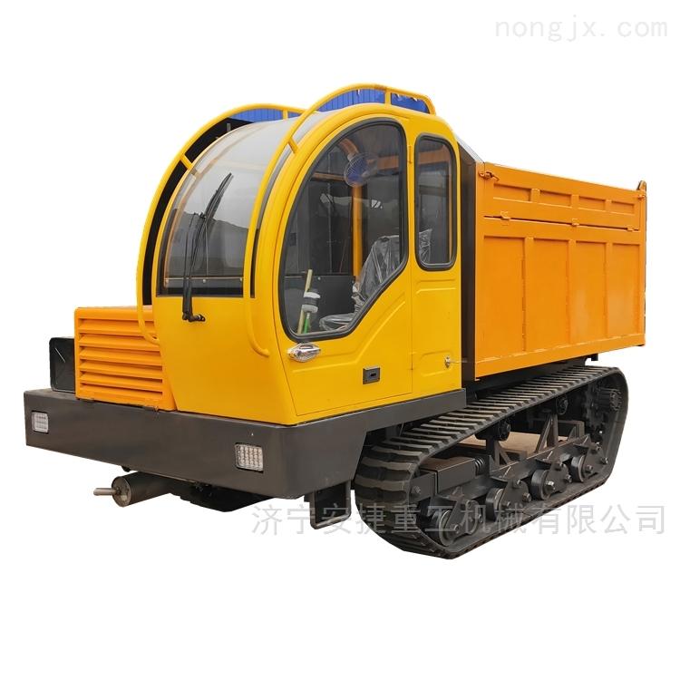 8吨履带运输车 履带式拖拉机 履带翻斗车