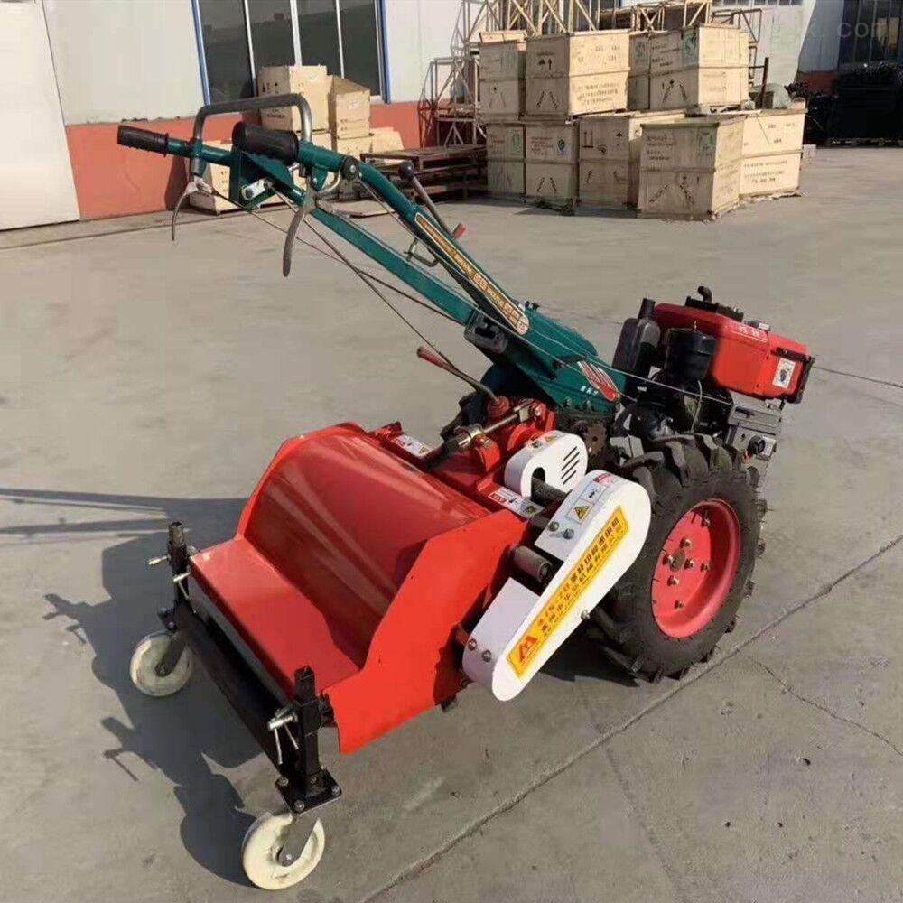 HS-农用两轮手扶车带的耕地机