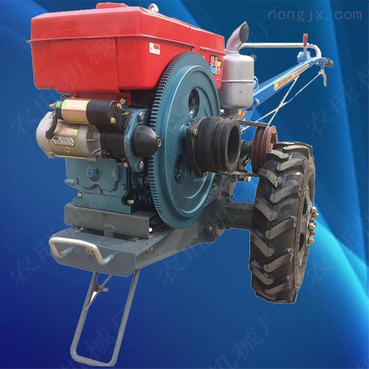 15马力多功能耕地手扶拖拉机 多用途山地两轮旋耕机