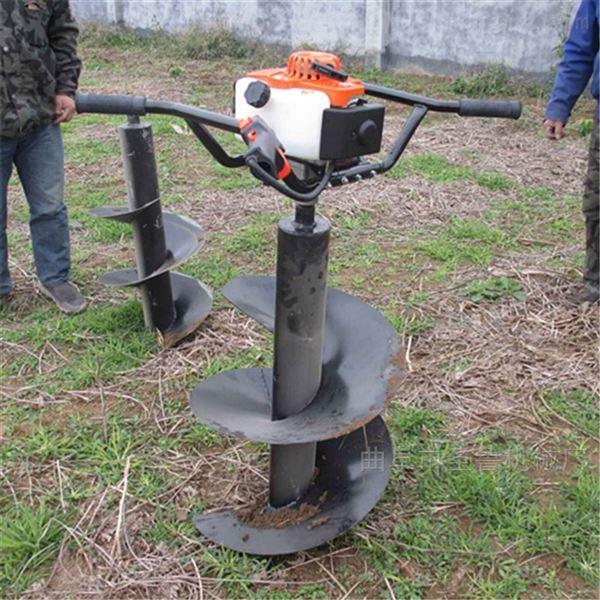 4.8马力双人台挖坑机