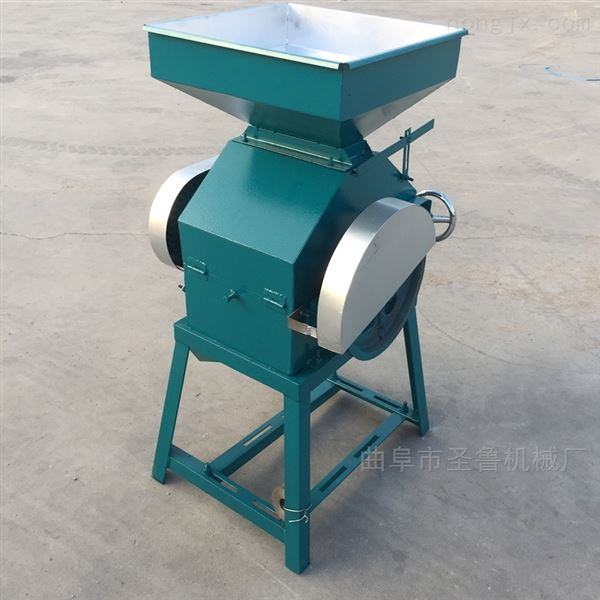 2020新款大豆挤扁机厚薄均匀豆扁机