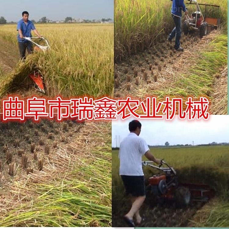 稻麦秸秆用小型割晒机