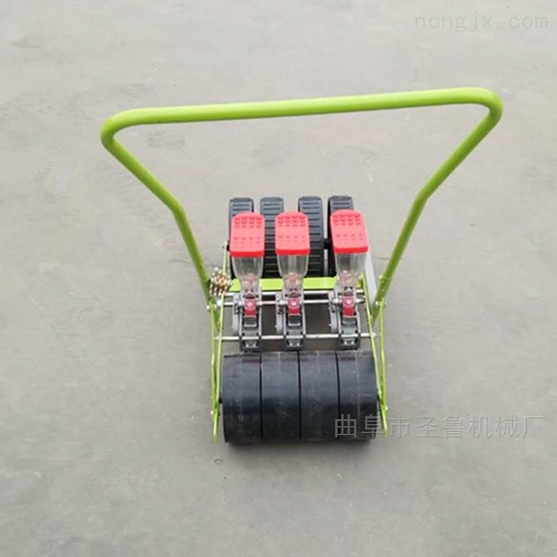 吉林新款油菜播种机人力大葱精播机