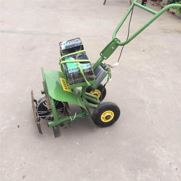 供应果园电动除草机 手推式电动割草松土机