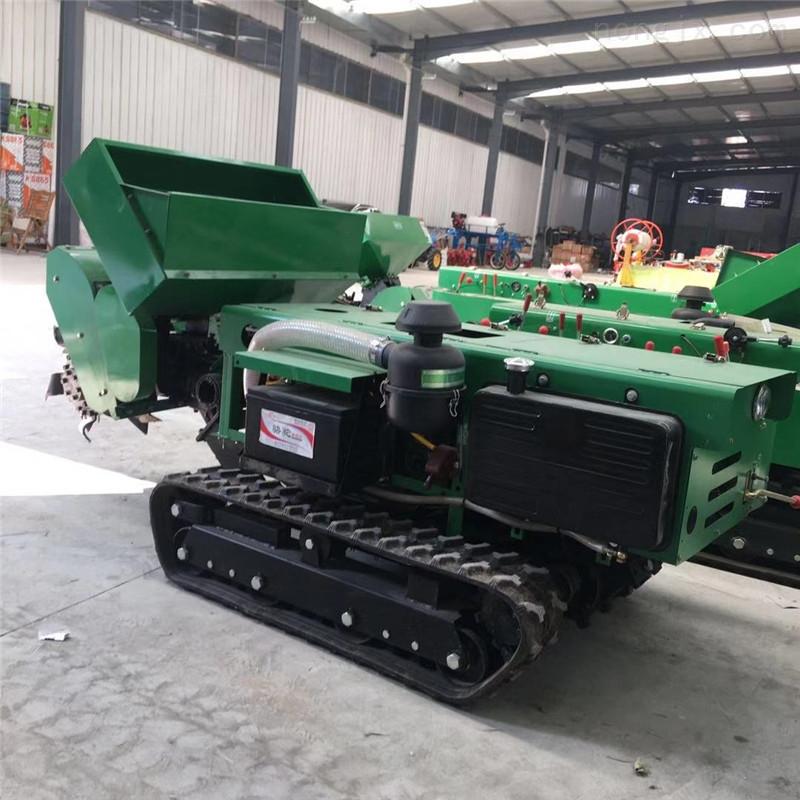 柴油自走式履带开沟机 遥控坦克式施肥机