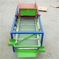 不锈钢粮食筛选过滤机 双层电动谷子筛选机
