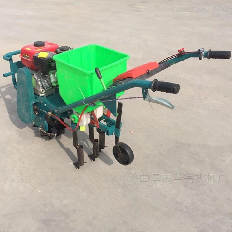 福建农用施肥播种机手扶花生喷药覆膜机