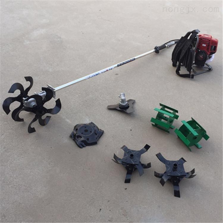 电动割草机 园林果园用的侧挂式小型除草机