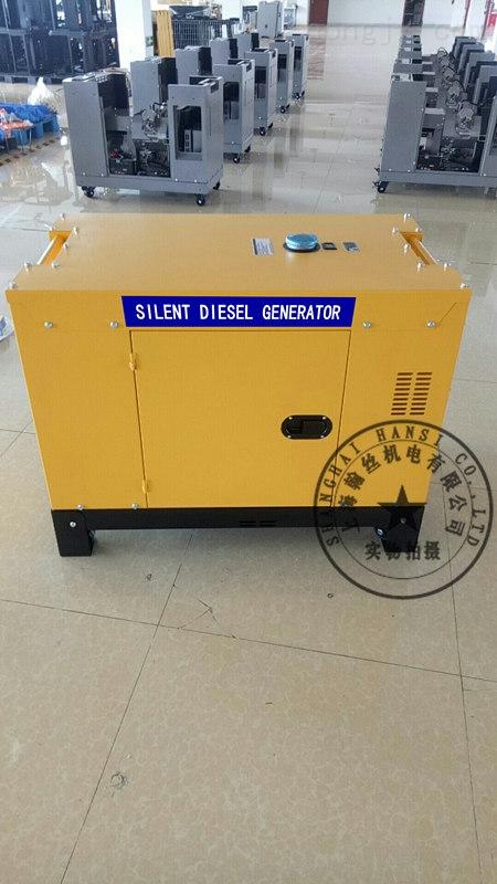 两缸15KW静音柴油发电机