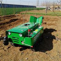 履带式田园管理机 多功能坦克式旋耕机