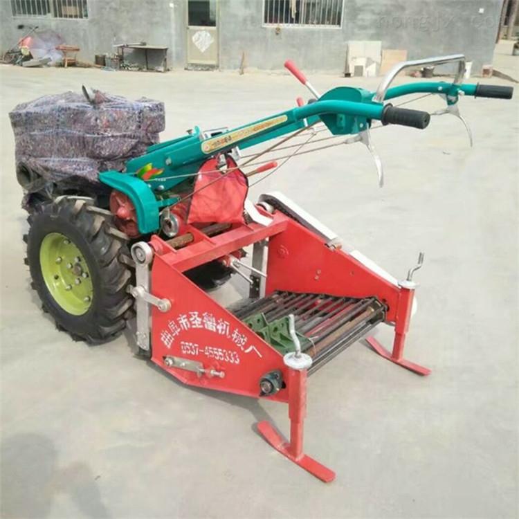 手扶牵引土豆收获机省人工耐用 红薯挖掘机