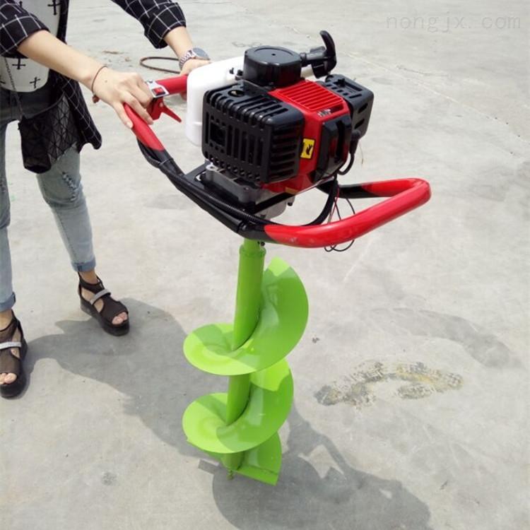 便携式汽油挖坑机 多功能农用打坑机