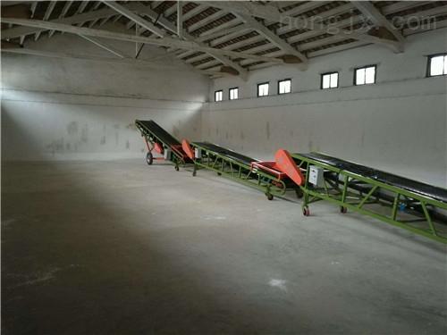 可移动皮带机 帮工定制升降可调皮带提升机