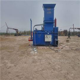 ZYD-100两缸液压青贮打包机 青贮粉碎打包一体机