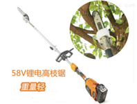 传峰58V充电式高枝锯TPPS5610果树修枝锯