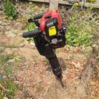 新款汽油手提挖树机