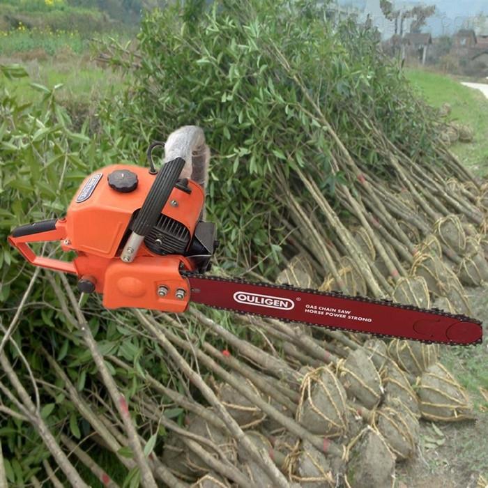 大马力合金链条起苗挖树机