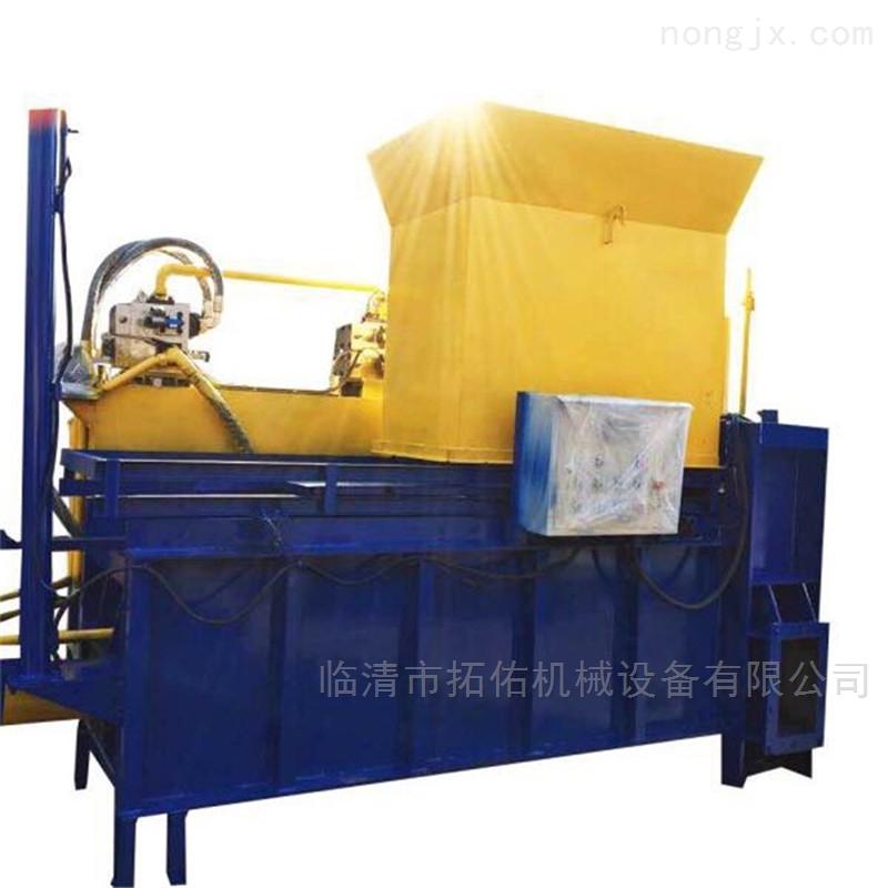 大型玉米秸秆压块机 拖拉机牵引式秸秆机