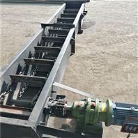 铸石板耐磨刮板输送机,石灰粉刮板式上料机