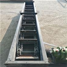 SG150链条式粉剂刮板输送机,可转向滑石粉上料机