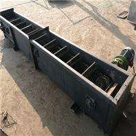 煤渣双板链刮板输送机,可转弯刮板上料机