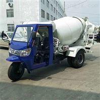 众达1-2方三轮车水泥搅拌车图片