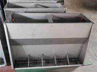 自动饲喂猪用料槽不锈钢双面保育料槽